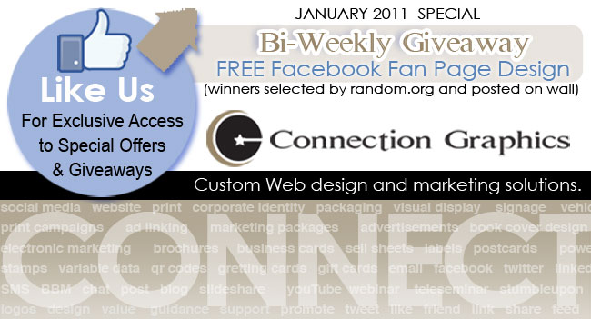 Facebook Custom Lansing Page Design Connection Group