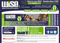wise website home page design
