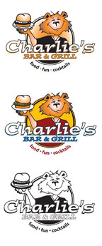 charlie's-bar-and-grill-logos