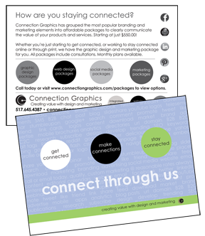 direct mail branding postcard example