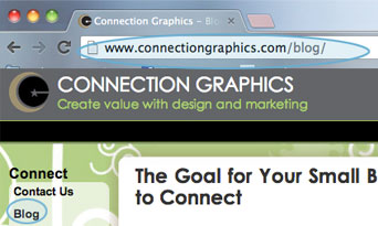integrate your blog with your website  blog and navigation