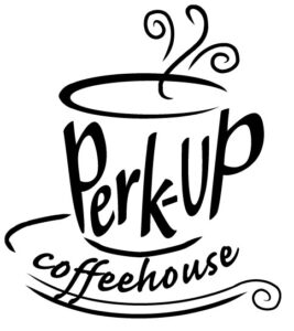 Perk-up coffeehouse logo