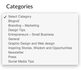 authentic website content categories