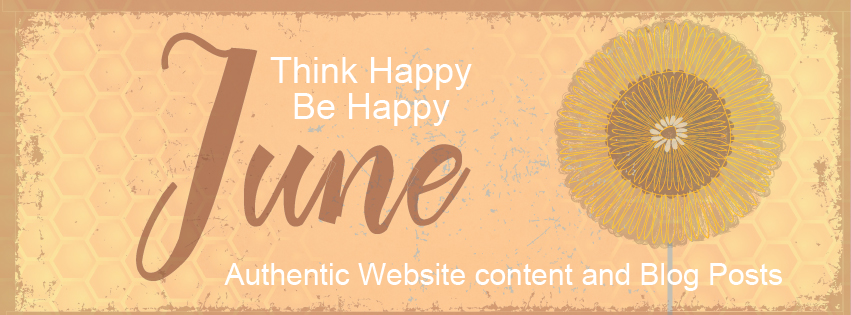 authentic website content and blog posts - June image