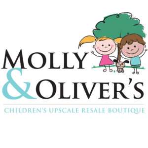 designing a small business logo Molly and Olivers