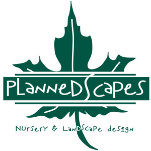 Plannedscape Nursery and landscape logo Portland, Michigan