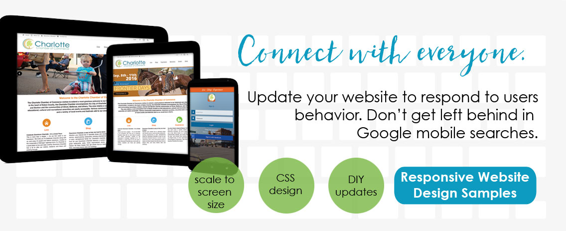 Local WordPress responsive website design update your website to respond to users.