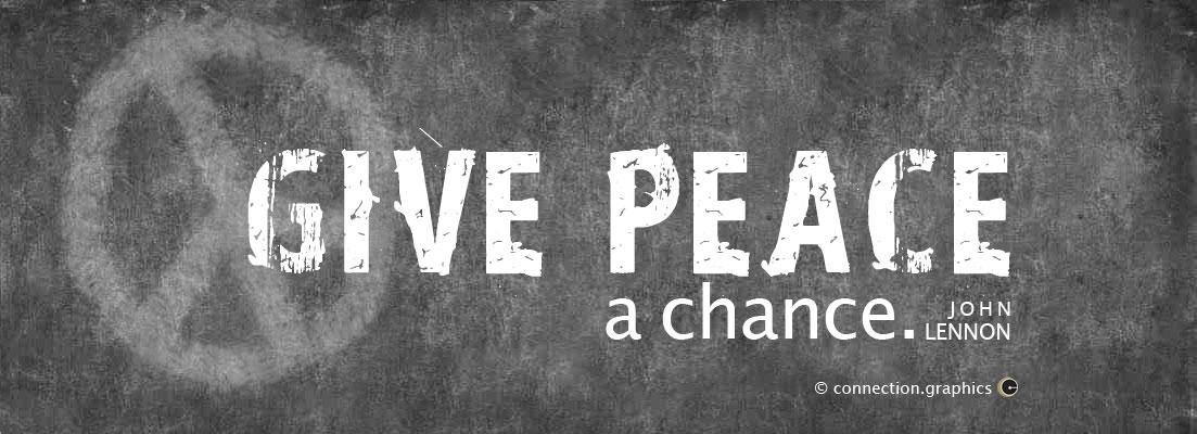 Free Use Facebook Cover Photo Peace John Lennon