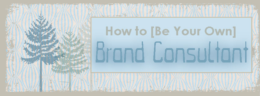 how to be your own brand consultant graphic