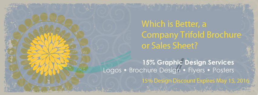 Company trifold brochure 15$ discount on graphic design Connection Group