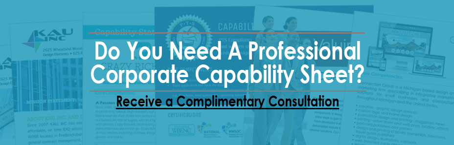 Do you need a professional corporate capability statement - free consultation