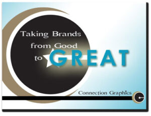 Taking a corporate brand from good to great brand marketing presentation cover design