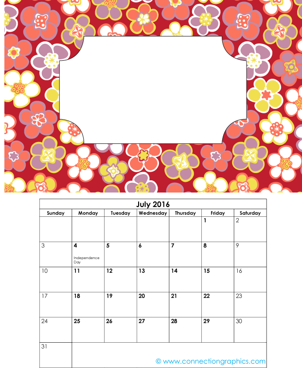 2016 printable calendar write your own quotes 7 connection group
