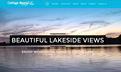 vacation rental property website design