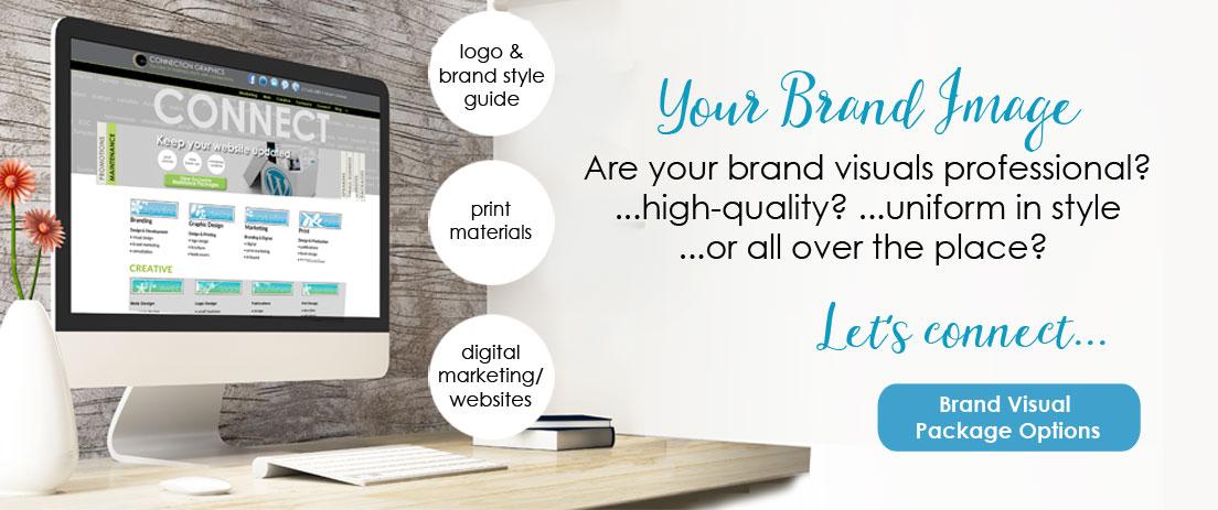 Graphic design high quality brand visuals
