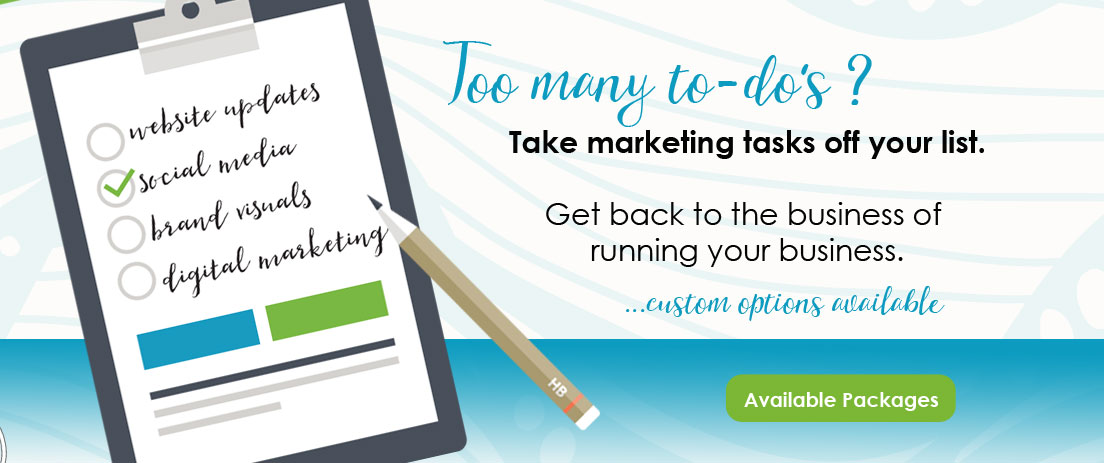 Get back to the business of running your business. Brand Design Packages