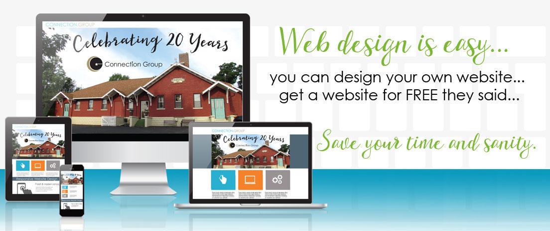 Free website design Michigan