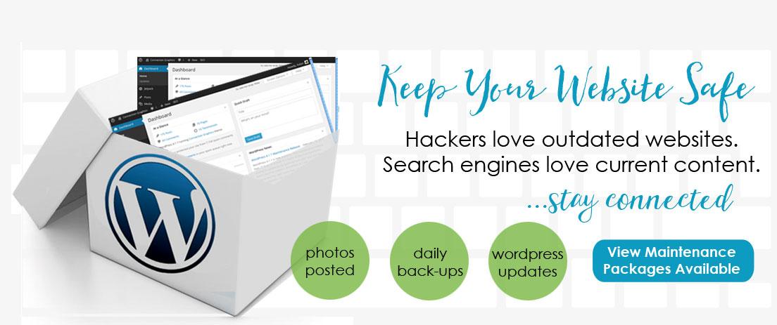 website maintenance packages keep your website safe